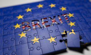 brexit, eu, flag, puzzle
